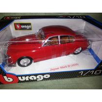 Burago Jaguar Mark Ii 1959 - 1/18- Nuevo $1500