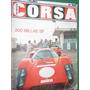 Revista Corsa 196 Vanwall F-1 Nissan R381 200 Millas Entel