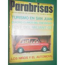 Revista Parabrisas 69 Road Test Valiant 4 Gt Auto Ideal