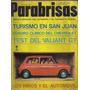 Revista Parabrisas 1966 Turismo En San Juan Test Valiant
