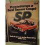 Publicidad Ford Taunus Coupe Sp Año 1979