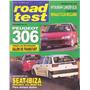 Revista Road Test Nº60 Peugeot 306 Seat Ibiza Nafta Diesel