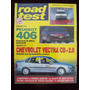 Road Test 74 12/96 Peugeot 406 Chevrolet Vectra Cd 2.0