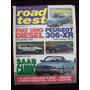 Road Test 62 12/95 Fiat Uno Diesel Peugeot 306 Xr Saab Cabr