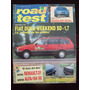 Road Test 15 1/92 Fiat Duna Weekend Sd 1.7 Renault 21