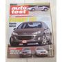 Revista Auto Test Agosto 2005 N°178 Peugeot 407 Focus Megane