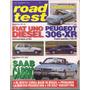 Revista Road Test Nº62 Fiat Uno Diesel Peugeot 306 Xr Saab