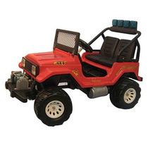 Jeep Auto Electrico A Bateria Para Dos Niños Toyota Off-road