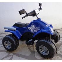 Cuatriciclo Grande Reforzado 12v Moto Auto Bateria Niños
