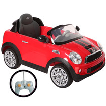 Auto A Batería Mini Cooper Kiddy Manual Radio Envio Gratis