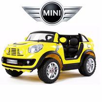 Nuevo! Mini Cooper Biplaza 2 Niños A Bateria + Control + Mp3