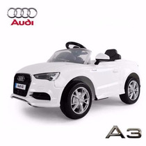 Audi A3 Auto Batería Control Remoto 12 V 3 Vel Auto Coche