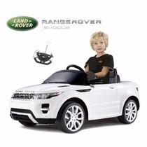 Camioneta Auto A Batería Rang Rover 12v Mp3 Control 12 Cuot