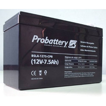 Bateria Acumulador De Gel 12v 7,5a Probattery Plomo-calcio