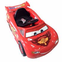 Auto Coche A Bateria Rayo Mc Queen C/control Mp3 Disney Cars