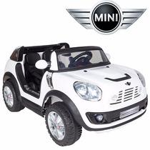 Nuevo! Mini Cooper 12v Doble 2 Niños A Bateria+ Control+ Mp3