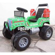 Auto Jeep Karting Cuatriciclo A Bateria Niños Super Oferta