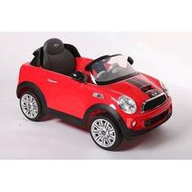 Auto Coche Bateria Para Niños Mini Cooper Kiddy Radio Fm Mp3