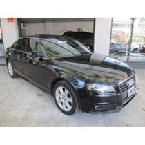 Audi A4 1.8 Tfsi Multitronic Sport Cuero Plus 2011 Negro