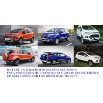 Ford Eco Sport 1.6 S, 2015, En Cuotas Sin Intereses