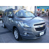 Chevrolet Spin Lt 5 A 100% Financiada $ 73854 Y Ctas S/ Int.