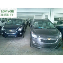 Chevrolet Spin 7 As Ltz 2014 0km $272.000 Of. Ent.inmed Ab