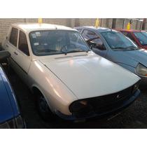 Renault 12 1.4 C/ Gnc 1990 Crema Bueno !!! (aty)