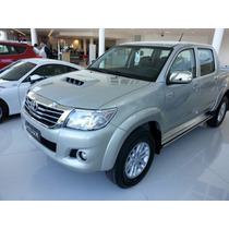 Nueva Toyota Hilux 4x2 C/d 2.8 Tdi Srv Financiado Y Cuotas