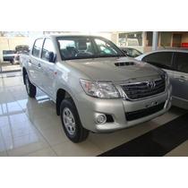 Toyota Hilux Dx Cabina Doble 4x4 $ 432.300.- Entrega Ya