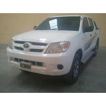 Toyota Hilux Dx 2.5 4x4 2007 Liquido A Primer Oferta !!!