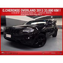 Grand Cherokee 2013 Overland 36000 Km Oport No Q5 X3 X5 Q7