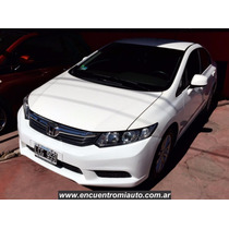 Honda Civic Mt Lxs Full 2012 Unico Por Su Estado Dgautos
