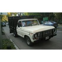 Ford F100 1978 Con Mudancera Y Gnc!!!!