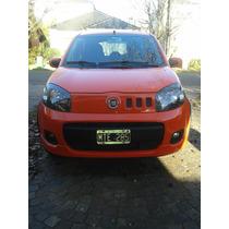 Fiat Uno Sporting 1.4 Modelo 2013 Naranja Full