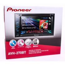 Pioneer Dvd Stereo 2 Din Pioneer Avh-270bt 2015 Nuevo Eeuu