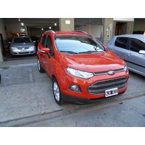 Ford Eco Sport Nafta 1.6 5puertas Naranj 2013 Km40m Titaniun