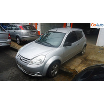 Ford Ka 1.6 Pulse 2008 Gris Aire Acondicionado Autos