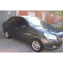 Chevrolet Aveo Lt Año 2013 Con 31369 Km Reales - Titular !!!