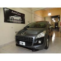 Peugeot 3008 Premium Plus 2012 73000 Km Gris Oscuro 5 Puerta