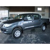 Nueva Toyota Hilux 4x4 C/d 2.4 Tdi Dx Financiado Y Cuotas