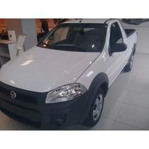 Fiat Strada Working Cabina Simple Color Blanca