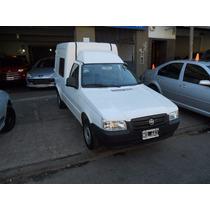 Fiat Fiorino Furgon Vidriada Color Blanco Motor 1.4 Año 2013