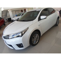Toyota Corolla Xli Manual 1.8 Financiado Y Cuotas