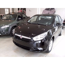 Fiat Grand Siena Attractive 2015 0km 1.4 Negro Nafta