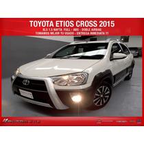 Toyota Etios Cross 2015 Permuto Ecosport Tracker Entrega Ya
