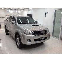 Toyota Hilux Srv 4x2 Tope De Gama Cuero Gps