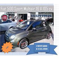 Fiat 500 Sport 0km Entrega Inmediata/financiación G