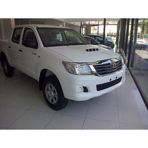 Toyota Hilux Dx Cabina Doble 4x4 $ 436.600.- Entrega Ya