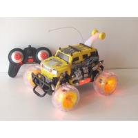 Camioneta Con Control Remoto Gira A 360º Sonido Y Luces