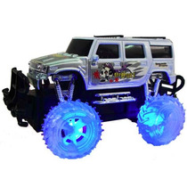 Camioneta Monster Truck Recargable Luces En Ruedas Full Niño